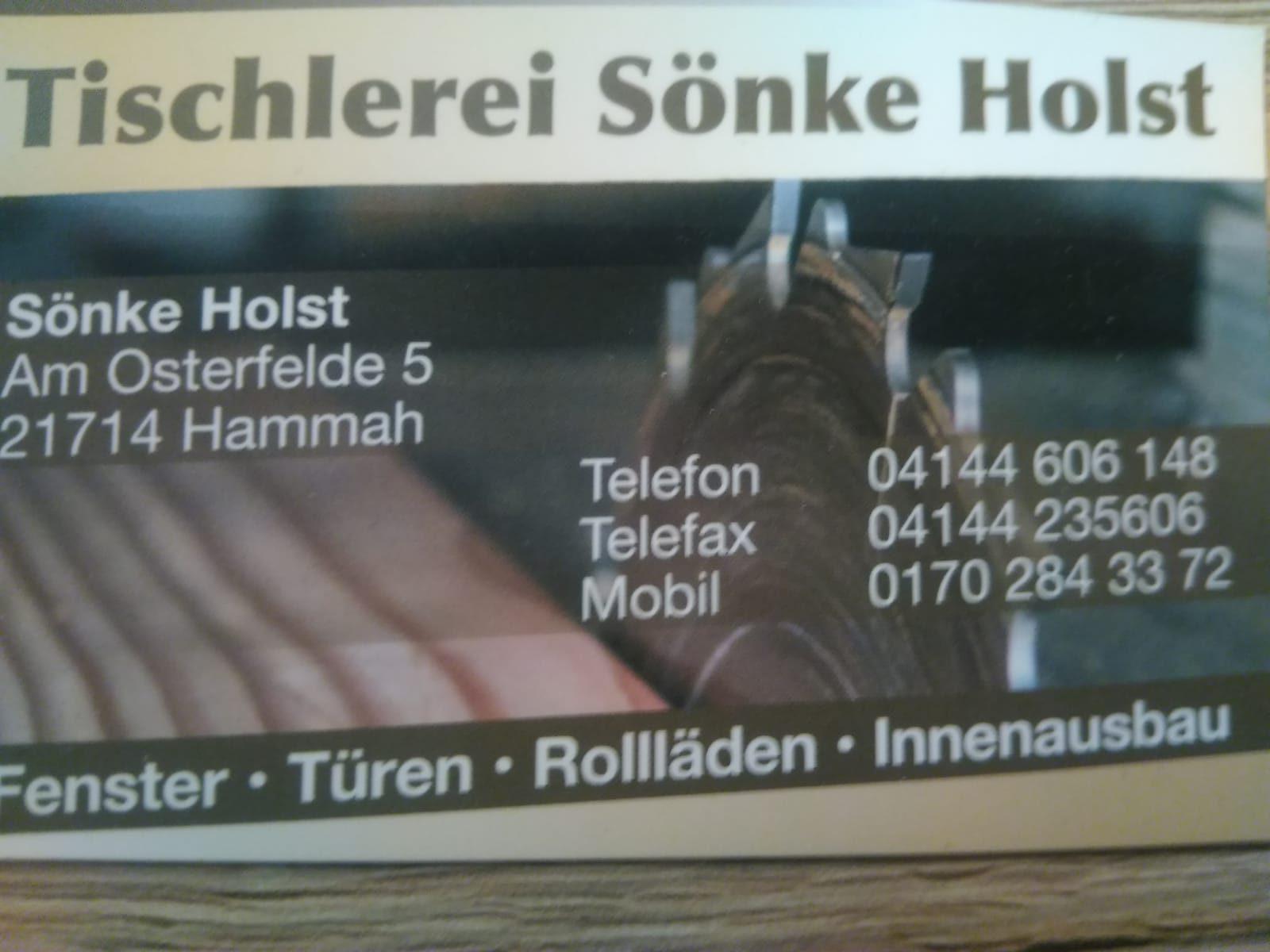 Tischlerei Sönke Holst